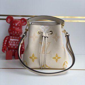 LV Neonoe BB Cream Saffron Bag M45716